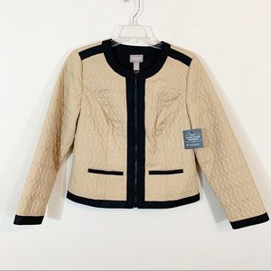 Chico's • Quilted Lightweight Jacket Size 0=S/4